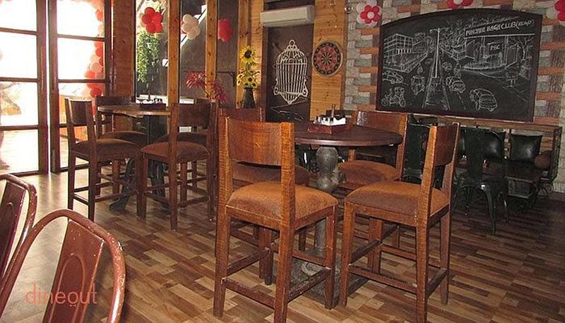 The Club Road Cafe Punjabi Bagh