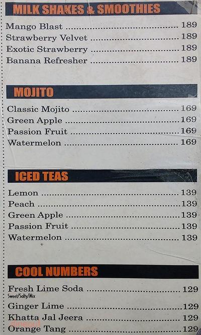 Cafe R.I.P Menu 4