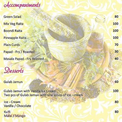 Herb n Spice Menu 13