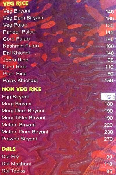 Surbhi Menu 5