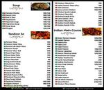 The Great Food Place Menu
