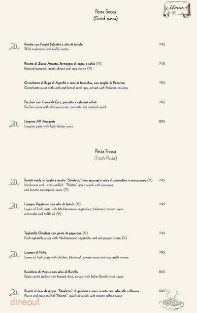 Zerruco Kitchen And Bar - The Ashok Menu 17