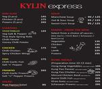 Kylin Express Menu