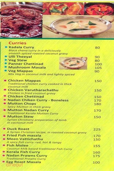 Curry Leaves Menu 2