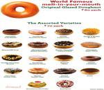 Krispy Kreme Menu