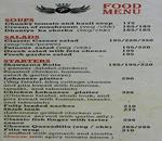 Cafe Fino Menu