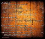 De' Kettle Cafe Menu