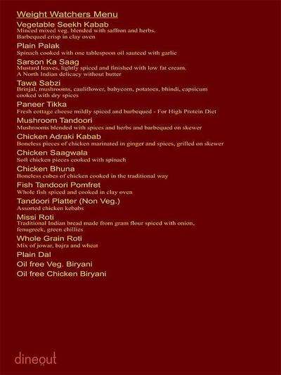 The Great Punjab Menu 17