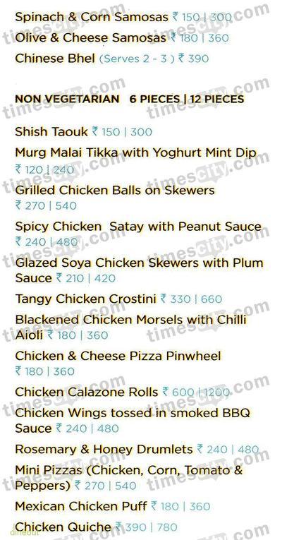 Foodhall Menu 2