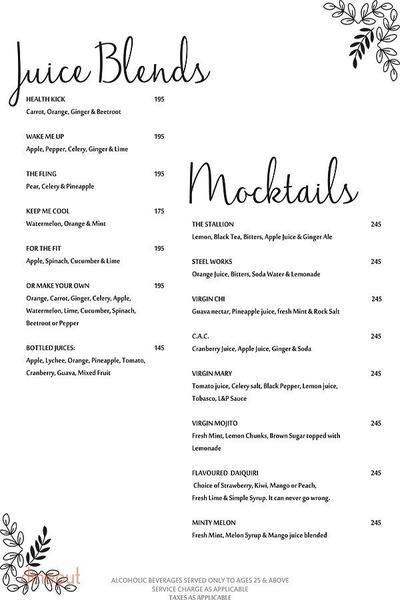Pamphilos Kitchen & Bar Menu 7
