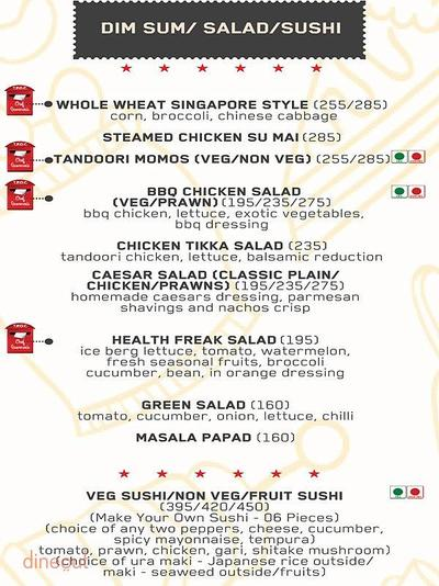 The Post Office Cafe Menu 5