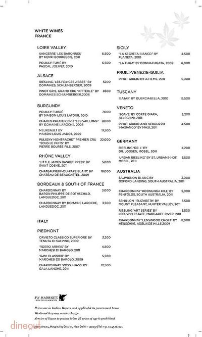 Akira Back - JW Marriott Hotel Menu 7