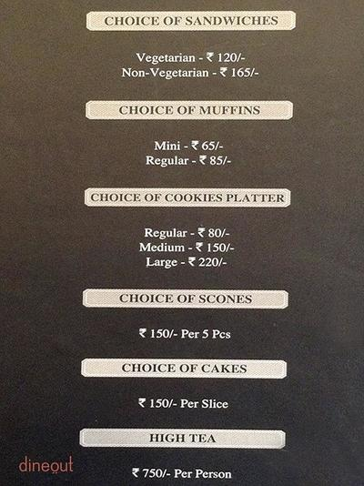 The Tea Place by Manjushree Menu 2