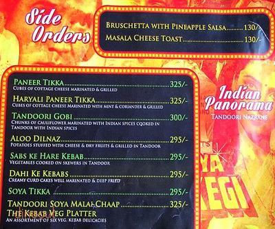 Mumbai Matinee Menu 7