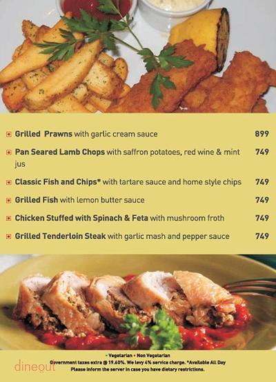 New Town Cafe - Park Plaza Noida Menu 8