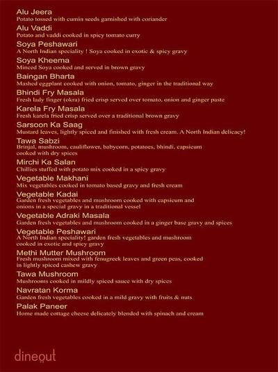 The Great Punjab Menu 14