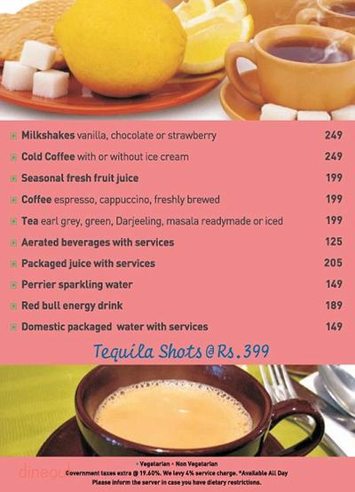 New Town Cafe - Park Plaza Noida Menu 14