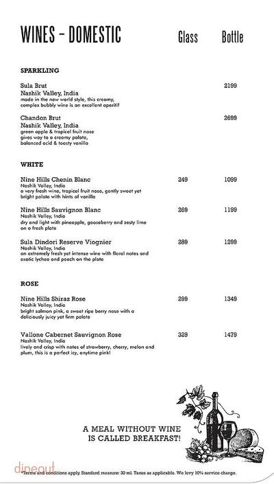 Harry's Bar + Cafe Menu 16
