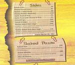 Big Yellow Door Menu