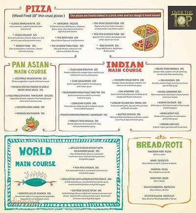 Over The Top Menu 2