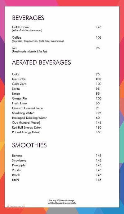 Ardor 2.1 Restaurant & Lounge Menu 22