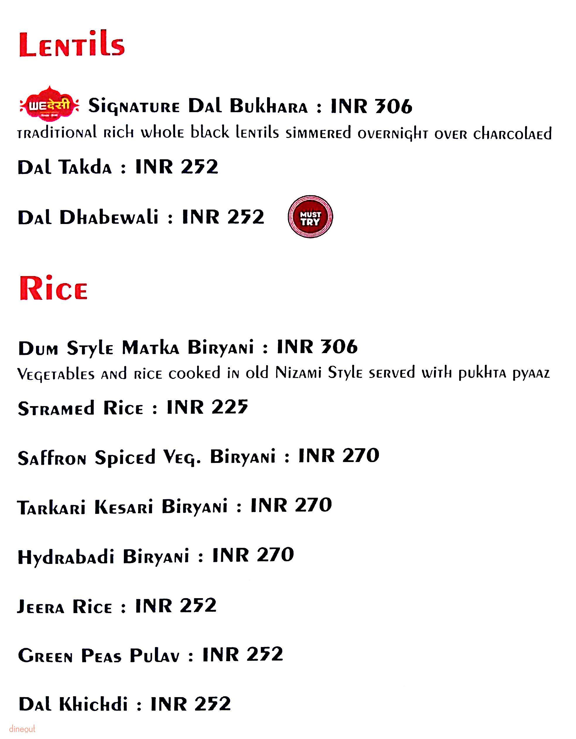 We Desi - Special Offers for JPMembers - JetPrivilege