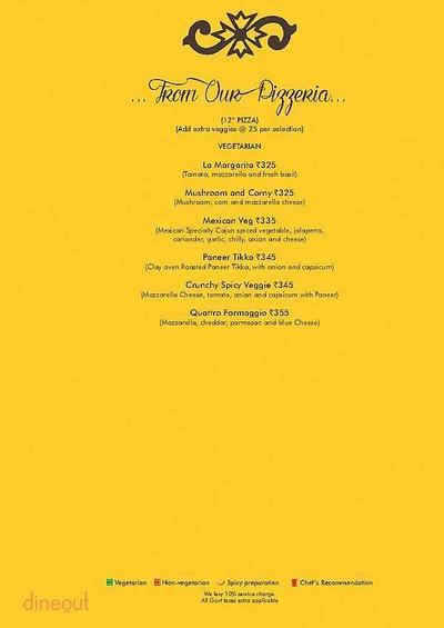 Ardor 2.1 Restaurant & Lounge Menu 8