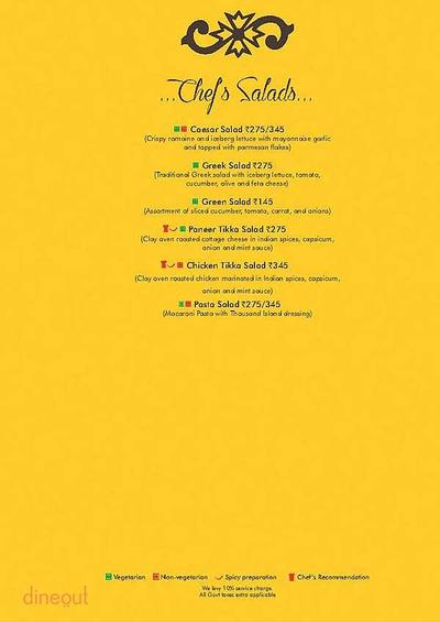 Ardor 2.1 Restaurant & Lounge Menu 2
