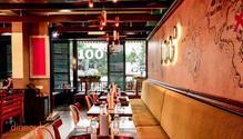 100 Degrees restaurant