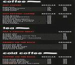 Cafe PeterDonuts Menu