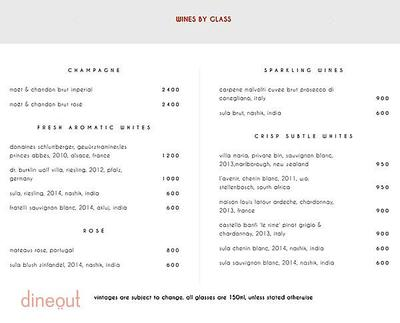 Indian Accent - The Manor Menu 5