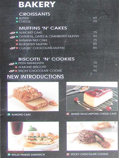 The Coffee Bean & Tea Leaf Menu 4