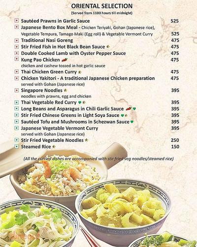 New Town Cafe - Park Plaza Gurgaon Menu 5