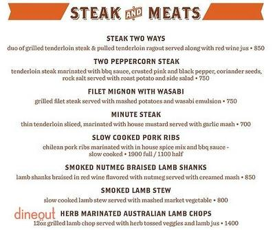 Smokey's BBQ and Grill Menu 6