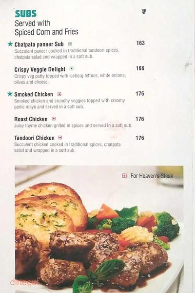 Cafe Coffee Day The Lounge Menu 4