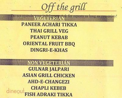 Barbeque Nation Menu 1