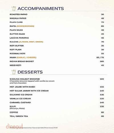Atlantics Bar Grill & Banquets Menu 6