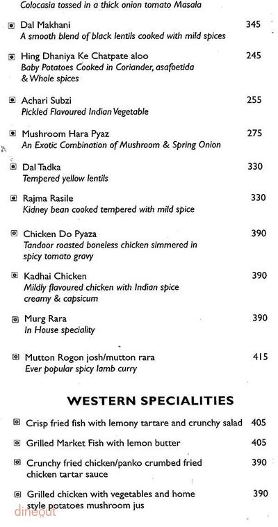 Cafe 55 - Park Inn Gurgaon Menu 4