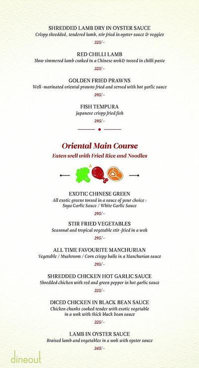Zaheer Khan's Dine Fine Menu 15