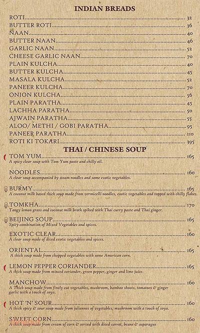 Bhairavee Pure Veg Restaurant Menu 3