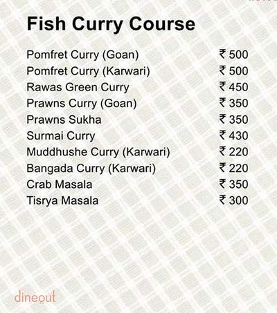 Fish Curry Rice Menu 8