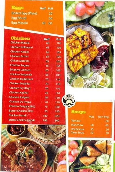 Food Inn Menu