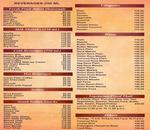 Shree Rathnam Menu