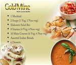 Gold Mine Menu