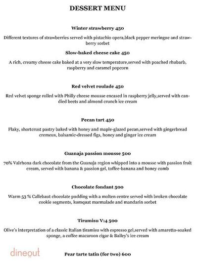 Olive Bar & Kitchen Menu 10