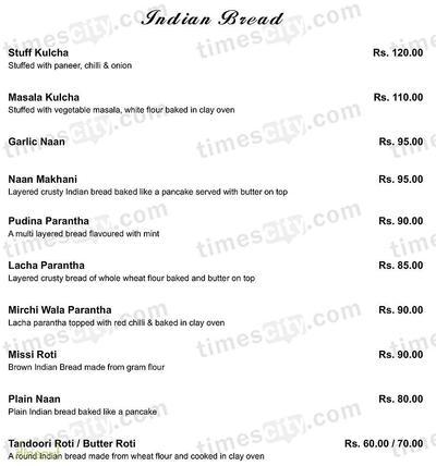 Ssky Bar & Lounge Menu 5