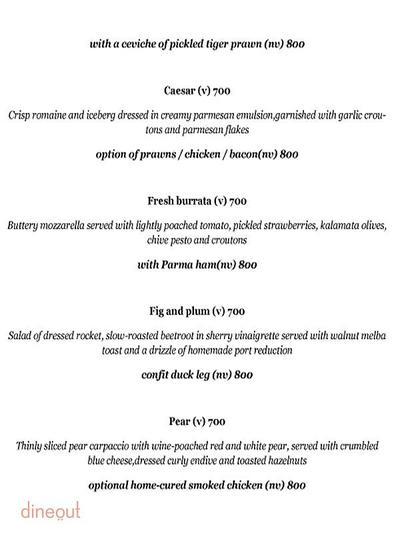 Olive Bar & Kitchen Menu 3