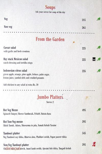 Quote - The Eclectic Bar and Lounge Menu 2