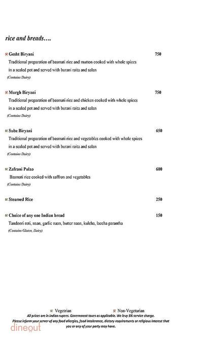 Mosaic - Crowne Plaza Menu 8