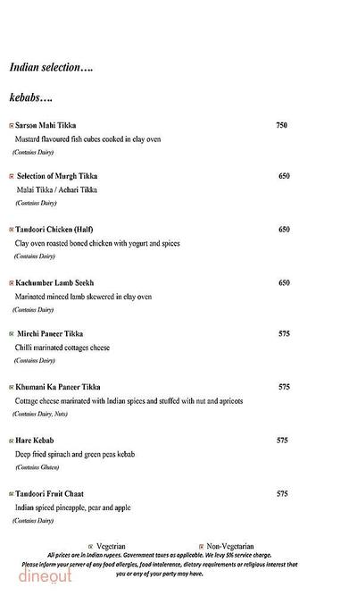 Mosaic - Crowne Plaza Menu 6